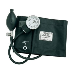 ADC blood pressure monitor