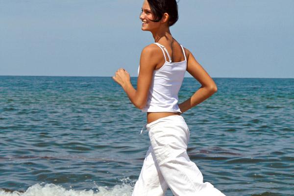 low blood pressure running woman